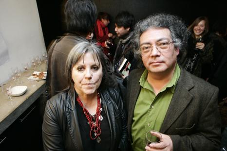 Diamela Eltit y Sergio Rojas - Arturo Ledezma Christian Alarcon y Sangria
