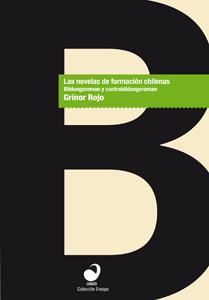 Portada Las novelas de formación chilenas. Bildungsroman y contrabildungsroman