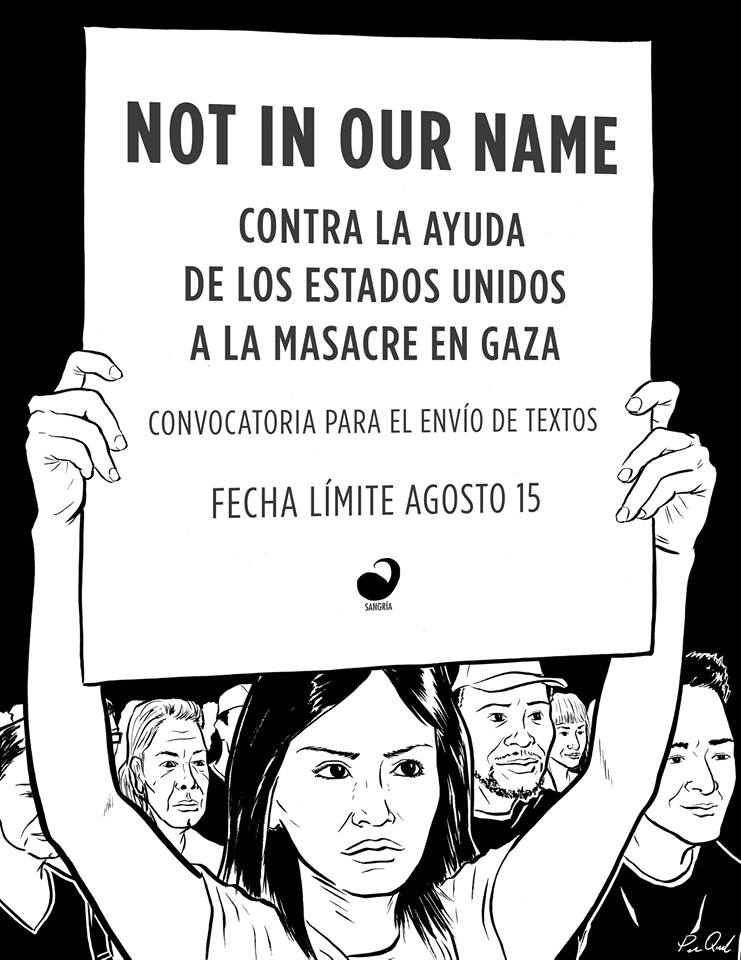 Not in Our Name - Convocatoria