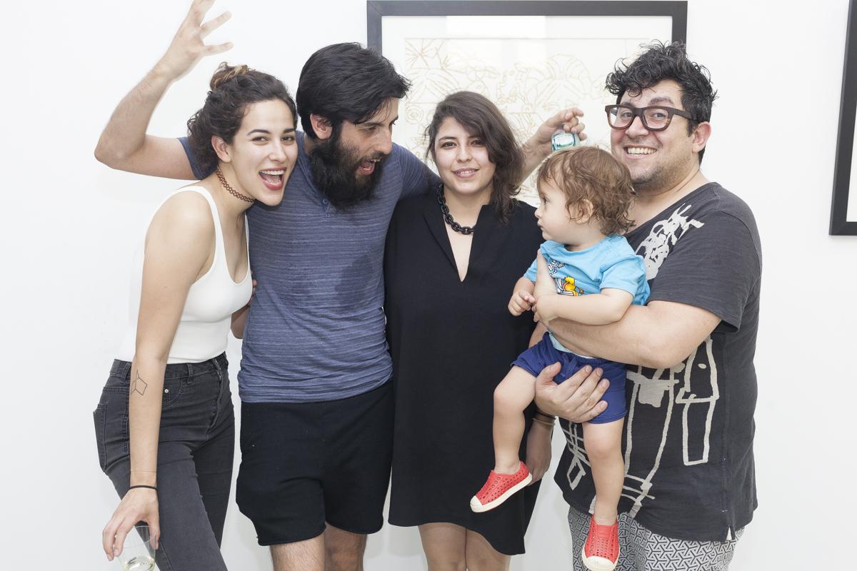 Foto 7 - HDXD y Ponk Delia Beatriz, Héctor Llanquín, Francisca Molina y Sokio - foto de Camilo Fuentealba